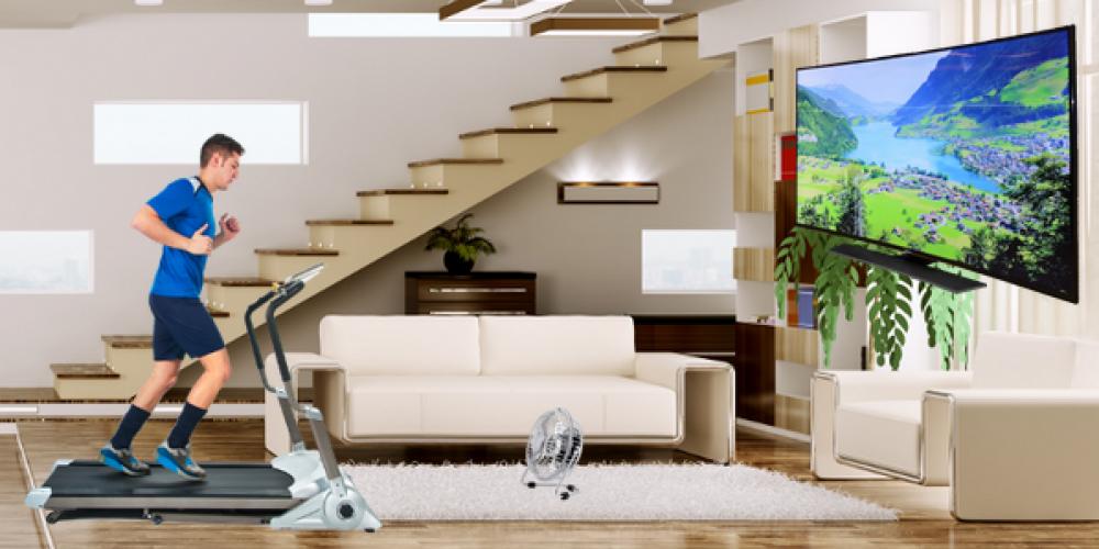 Indoor Traveler Home Setup