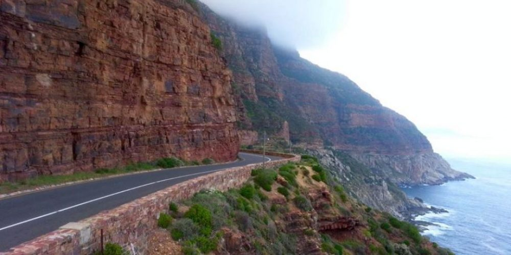 Chapman's Peak Drive to Noordhoek, South Africa
